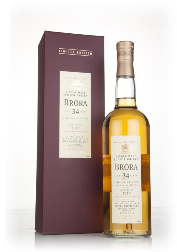 Brora 34 Year Old 1982 (Special Release 2017) Single Malt Whisky