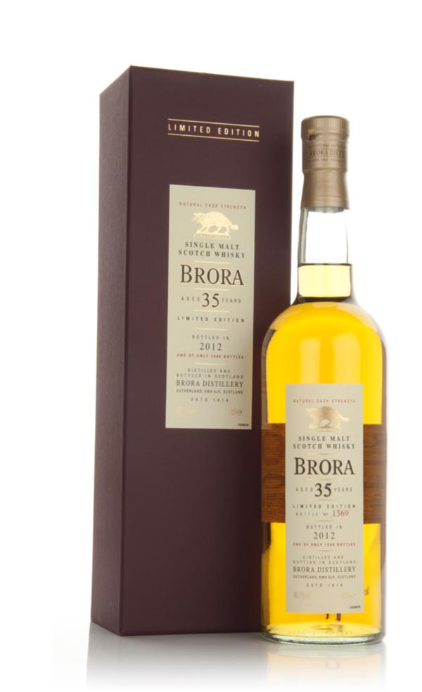 Brora 35 Year Old (2012 Special Release) Single Malt Whisky