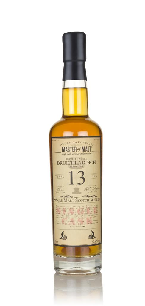 Bruichladdich 13 Year Old 2004 - Single Cask (Master of Malt) 3cl Samp Single Malt Whisky 3cl Sample