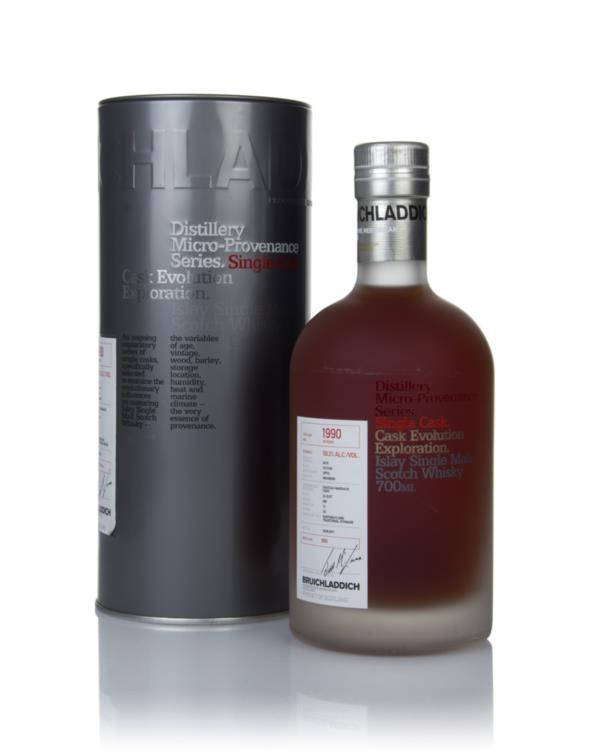 Bruichladdich 20 Year Old 1990 (cask 055) - Micro-Provenance Series Single Malt Whisky