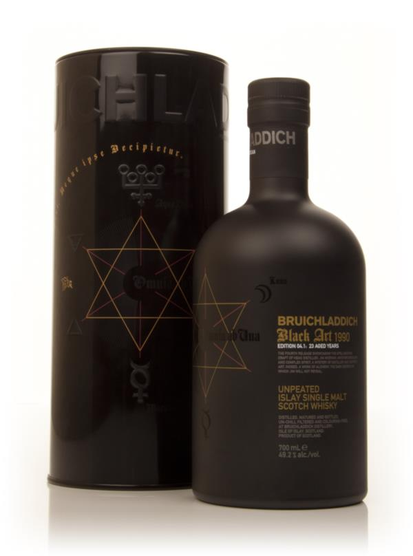 Bruichladdich 23 Year Old 1990 Black Art 04.1 Single Malt Whisky