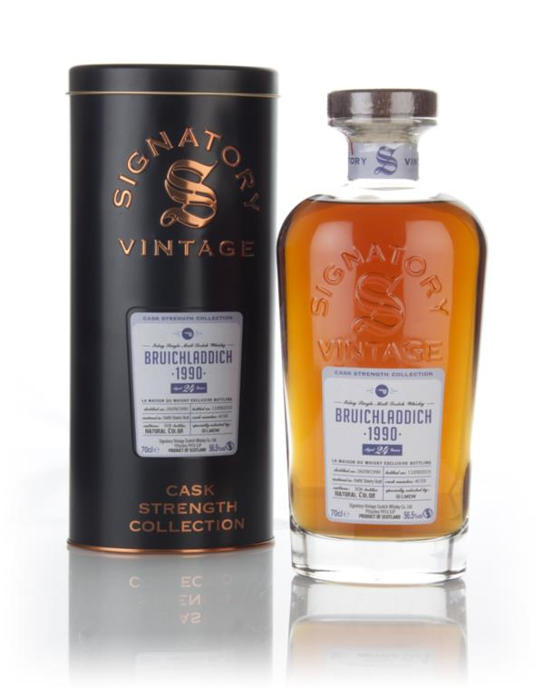 Bruichladdich 24 Year Old 1990 (cask 159) Cask Strength Collection (Si Single Malt Whisky 3cl Sample