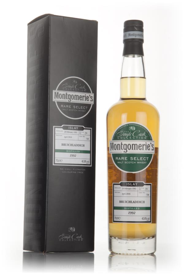 Bruichladdich 24 Year Old 1992 (cask 728) - Rare Select (Montgomerie's Single Malt Whisky 3cl Sample