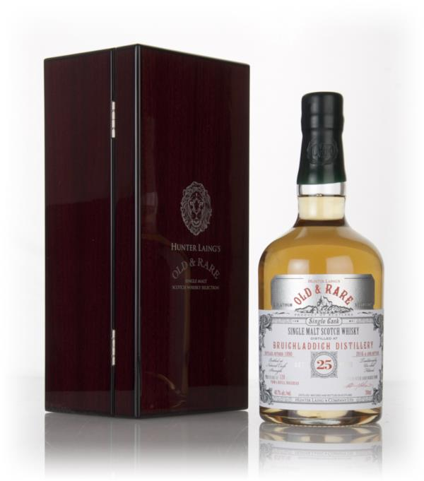 Bruichladdich 25 Year Old 1990 - Old & Rare Platinum (Hunter Laing) 3c Single Malt Whisky 3cl Sample