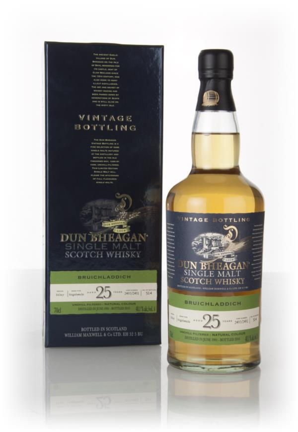 Bruichladdich 25 Year Old 1991 (casks 2490 & 2491) - Dun Bheagan (Ian Single Malt Whisky 3cl Sample