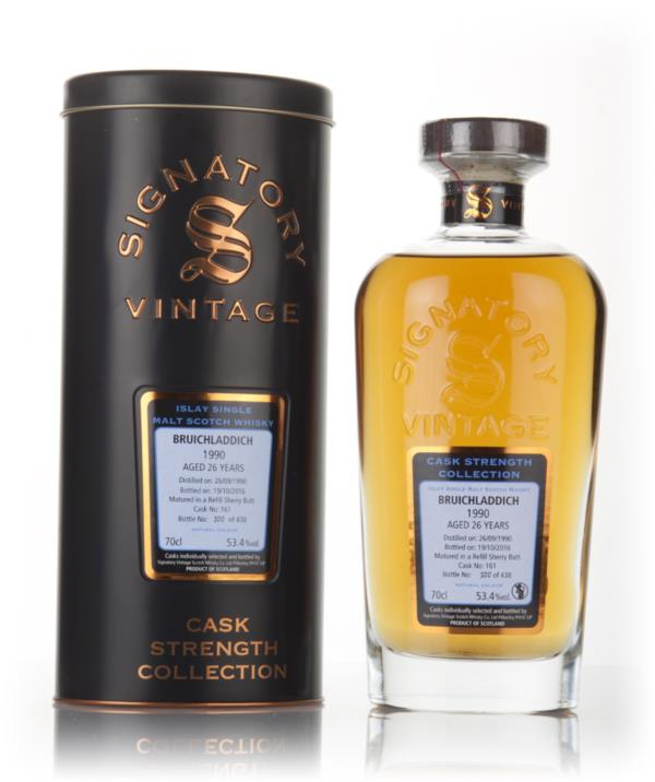 Bruichladdich 26 Year Old 1990 (cask 161) - Cask Strength Collection ( Single Malt Whisky 3cl Sample