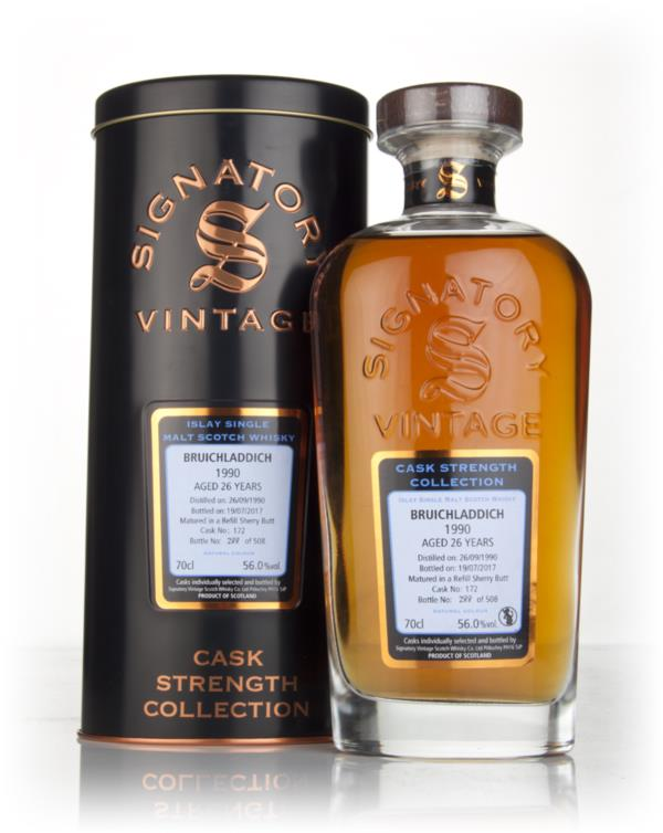 Bruichladdich 26 Year Old 1990 (cask 172) - Cask Strength Collection ( Single Malt Whisky
