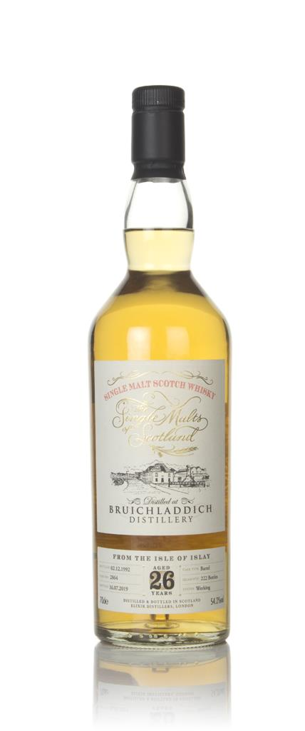Bruichladdich 26 Year Old 1992 (cask 2864) -The Single Malts of Scotla Single Malt Whisky