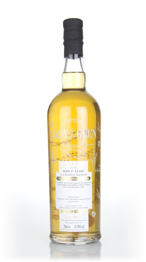 Bruichladdich 27 Year Old 1991 (cask 2132) - Lady of the Glen (Hannah Single Malt Whisky