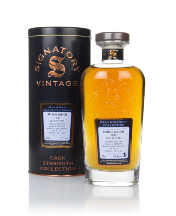 Bruichladdich 28 Year Old 1990 (cask 169) - Cask Strength Collection ( Single Malt Whisky