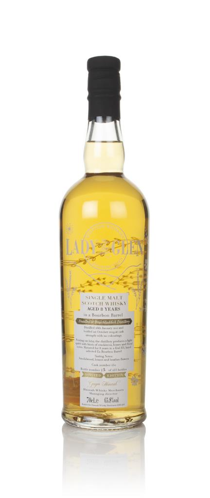 Bruichladdich 8 Year Old 2011 (cask 150) - Lady Of The Glen (Hannah Wh Single Malt Whisky