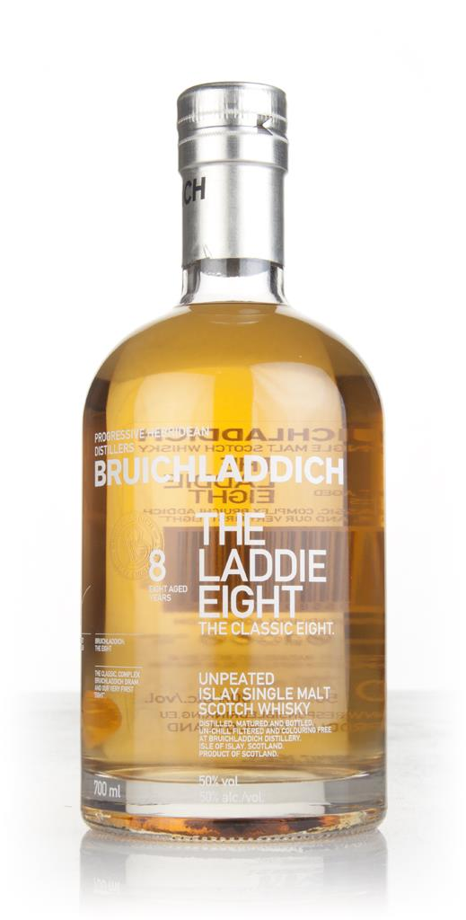 Bruichladdich 8 Year Old - The Laddie Eight Single Malt Whisky