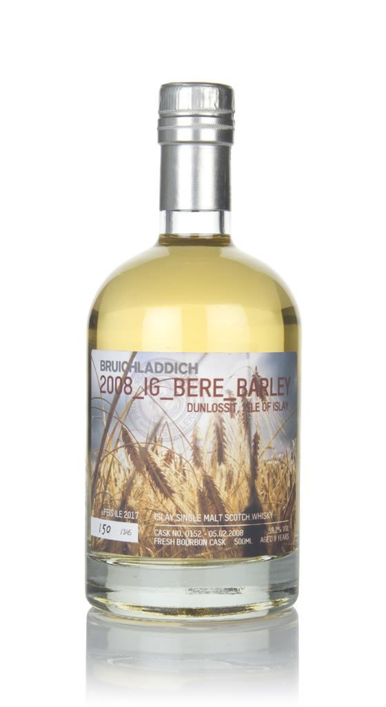 Bruichladdich Bere Barley 2008 - Feis Ile 2017 Single Malt Whisky