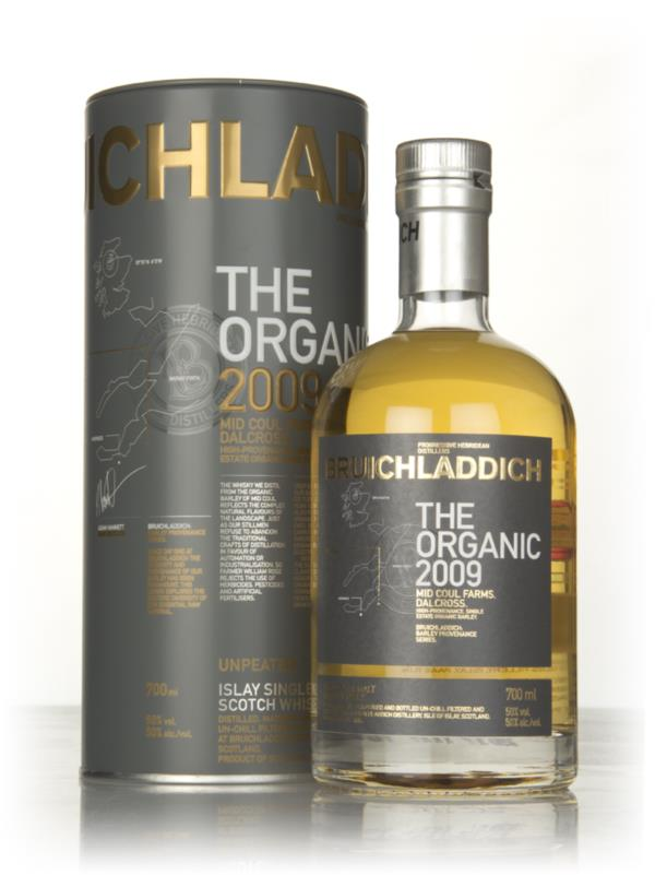 Bruichladdich The Organic 2009 Single Malt Whisky