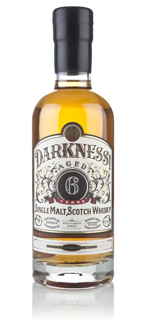 Darkness! Port Charlotte 6 Year Old Pedro Ximenez & Oloroso Hybrid Cas Single Malt Whisky 3cl Sample