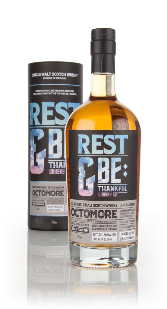Octomore 6 Year Old 2007 (cask 16737) - Sauterne Cask (Rest & Be Thank Single Malt Whisky