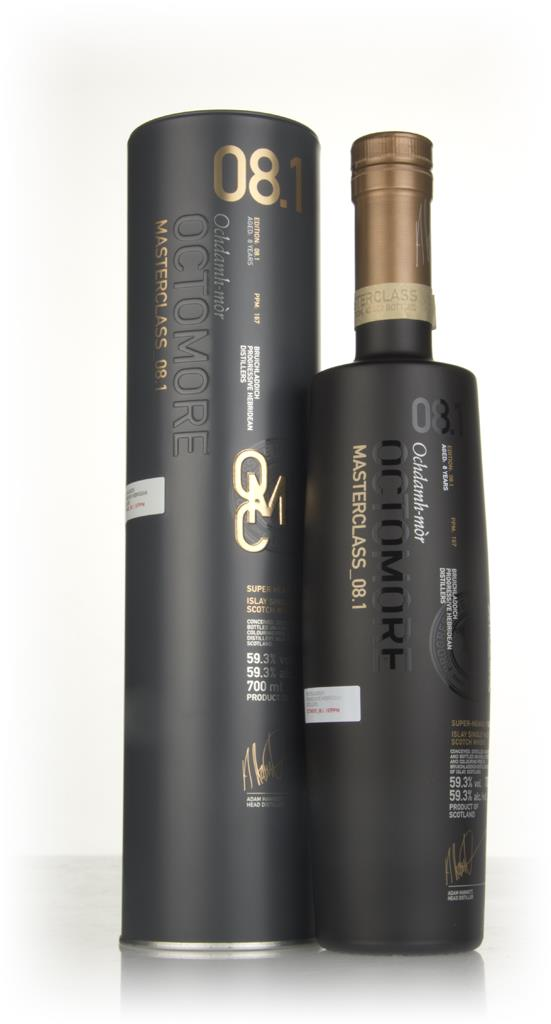 Octomore Masterclass_08.1 8 Year Old 3cl Sample Single Malt Whisky