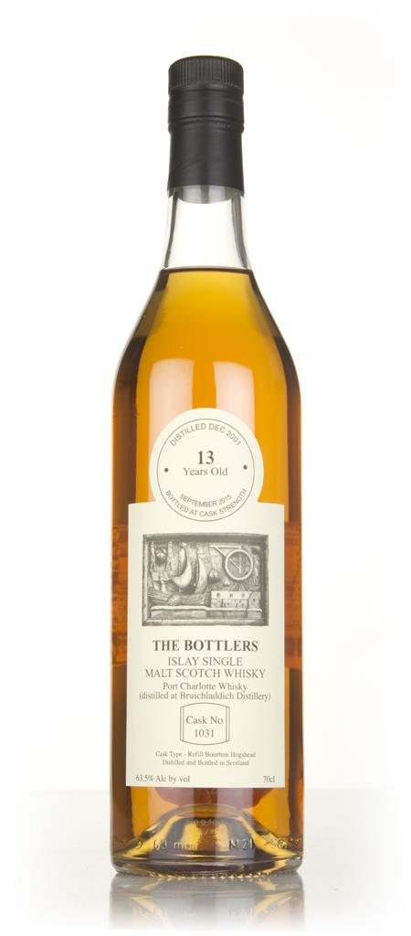 Port Charlotte 13 Year Old 2001 (cask 1031) - The Bottlers 3cl Sample Single Malt Whisky