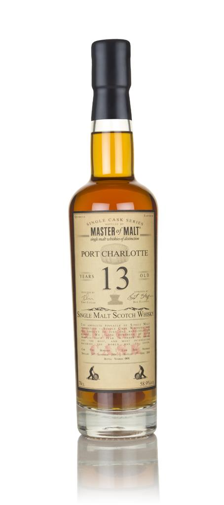 Port Charlotte 13 Year Old 2004 (Burgundy cask) - Single Cask (Master Single Malt Whisky
