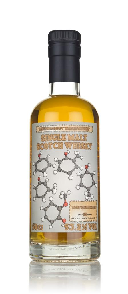 Port Charlotte 13 Year Old - Batch 4 (That Boutique-y Whisky Company) Single Malt Whisky 3cl Sample