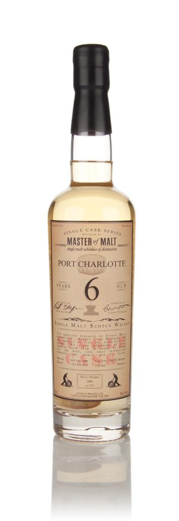 Port Charlotte 6 Year Old 2009 - Single Cask (Master of Malt) Single Malt Whisky