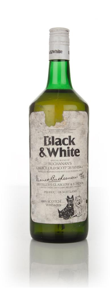 Black & White - 1970s Blended Whisky