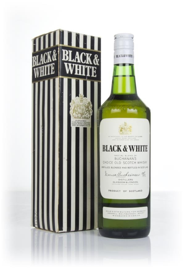 Black & White (boxed) - 1970s Blended Whisky