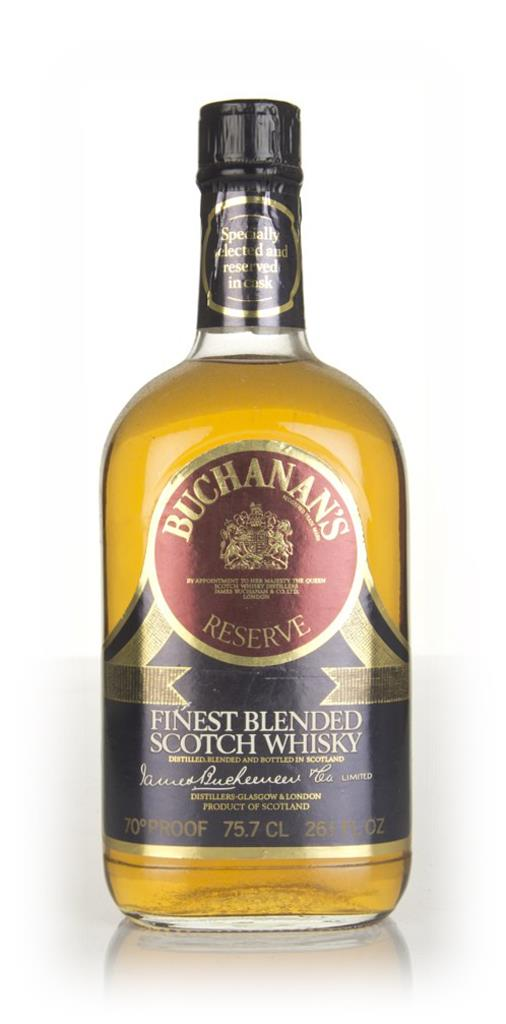 Buchanans Reserve - 1970s Blended Whisky