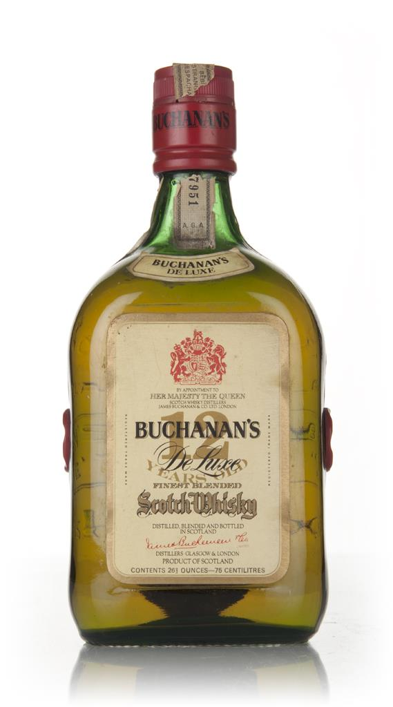 James Buchanans De Luxe 12 Year Old - 1960s Blended Whisky