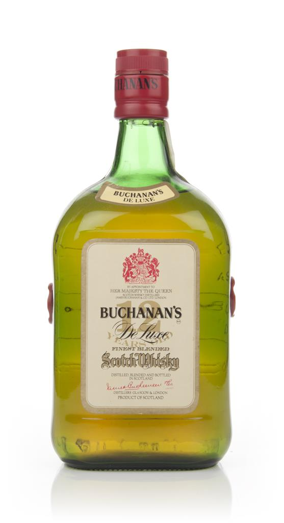 James Buchanans De Luxe 12 Year Old - 1970s Blended Whisky