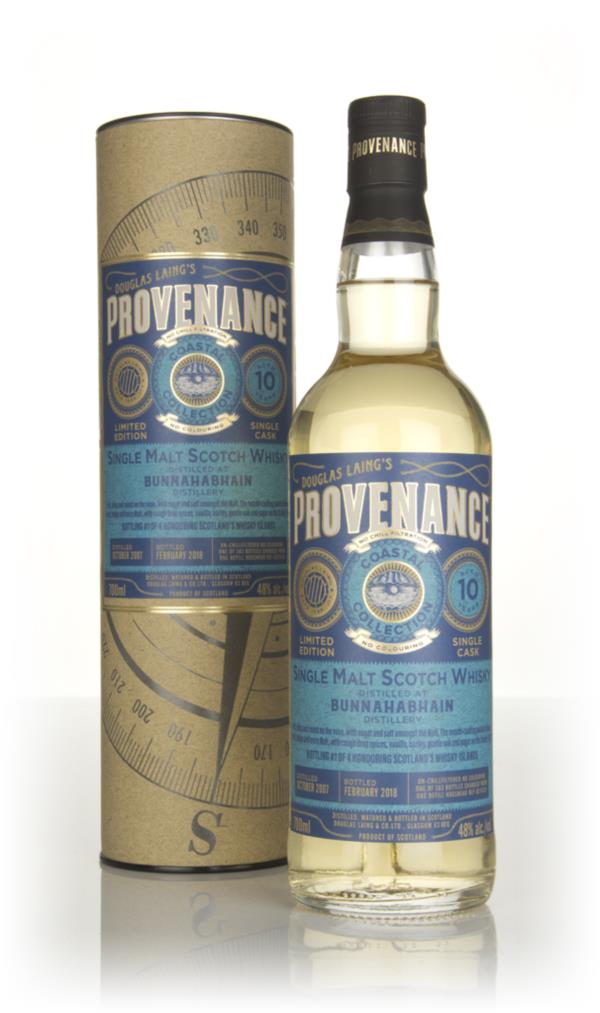 Bunnahabhain 10 Year Old 2007 (cask 11420) - Provenance Coastal Collec Single Malt Whisky