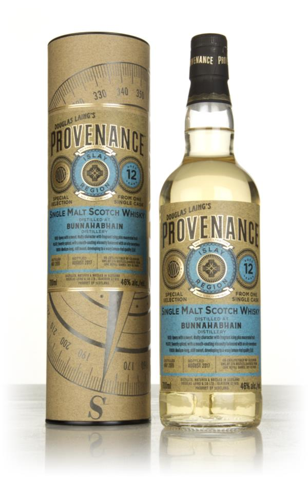 Bunnahabhain 12 Year Old 2005 (cask 11899) - Provenance (Douglas Laing Single Malt Whisky