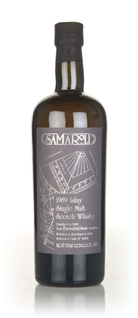 Bunnahabhain 1989 (bottled 2016) (cask 6084) - Samaroli 3cl Sample Single Malt Whisky