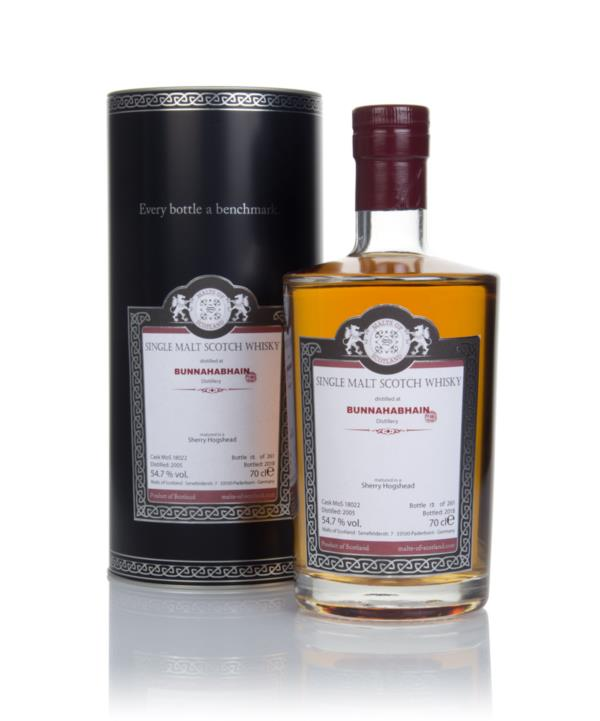 Bunnahabhain 2005 (bottled 2018) (cask 18022) - Malts of Scotland Single Malt Whisky