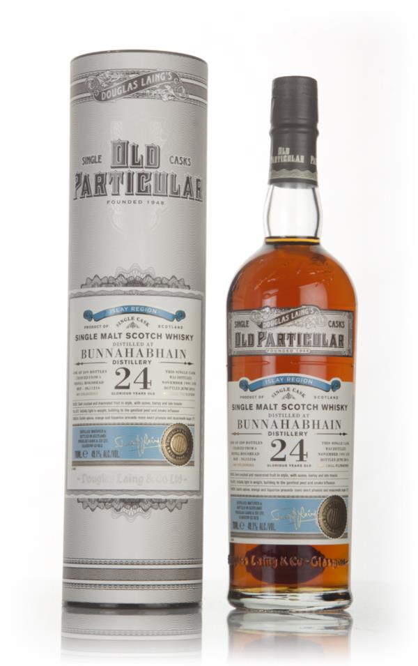 Bunnahabhain 24 Year Old 1991 (cask 11216) - Old Particular (Douglas L Single Malt Whisky 3cl Sample