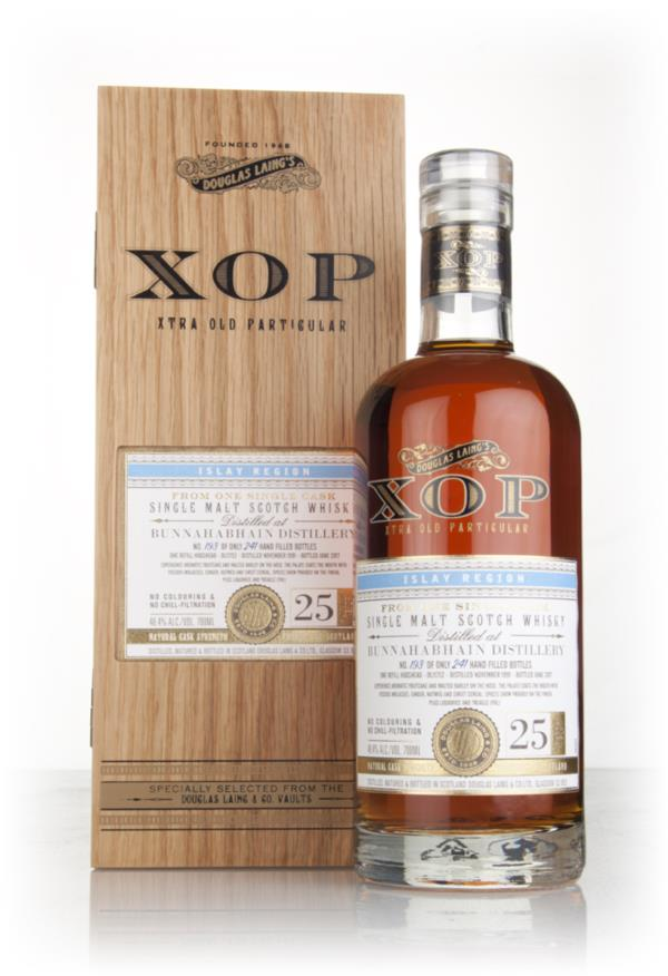 Bunnahabhain 25 Year Old 1991 (cask 11752) - Xtra Old Particular (Doug Single Malt Whisky 3cl Sample