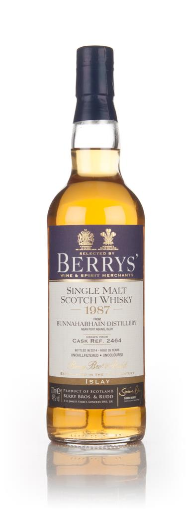Bunnahabhain 26 Year Old 1987 (cask 2464) (Berry Bros. & Rudd) 3cl Sam Single Malt Whisky 3cl Sample