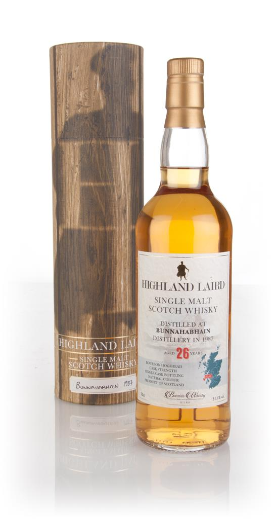 Bunnahabhain 26 Year Old 1987 - Highland Laird (Bartels Whisky) 3cl Sa Single Malt Whisky 3cl Sample
