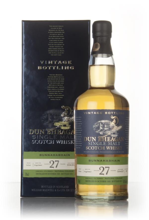 Bunnahabhain 27 Year Old 1989 (casks 5834 & 5837) - Dun Bheagan (Ian M Single Malt Whisky