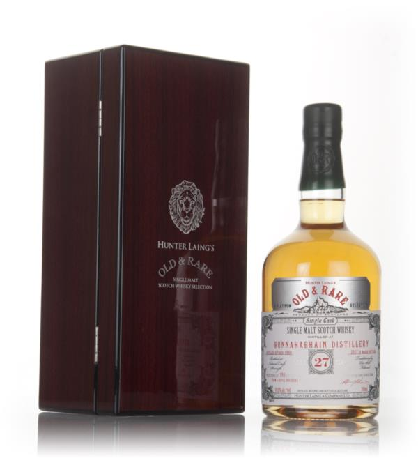 Bunnahabhain 27 Year Old 1989 - Old & Rare Platinum (Hunter Laing) Single Malt Whisky