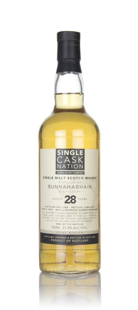 Bunnahabhain 28 Year Old 1988 (Single Cask Nation) Single Malt Whisky