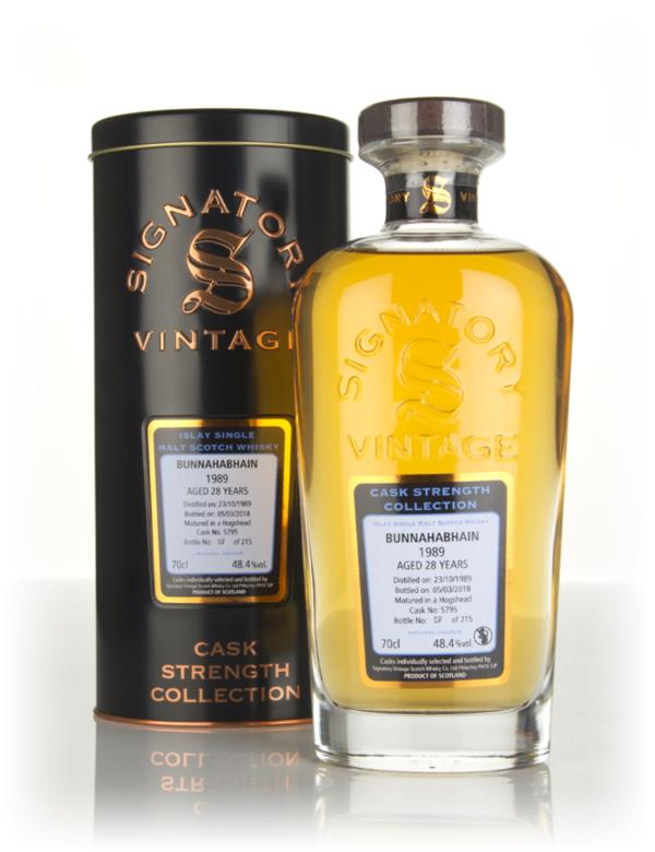 Bunnahabhain 28 Year Old 1989 (cask 5795) - Cask Strength Collection ( Single Malt Whisky