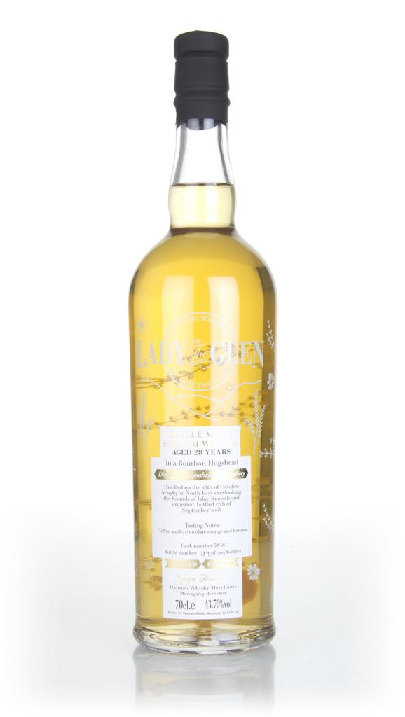 Bunnahabhain 28 Year Old 1989 (cask 5836) - Lady of the Glen (Hannah W Single Malt Whisky