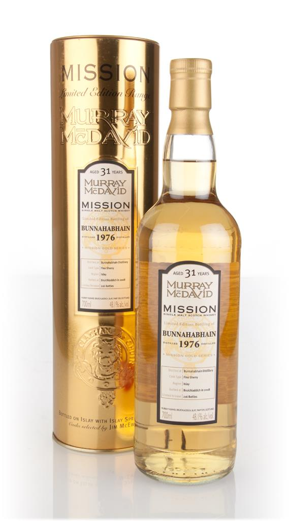 Bunnahabhain 31 Year Old 1976 - Mission Gold (Murray McDavid) Single Malt Whisky