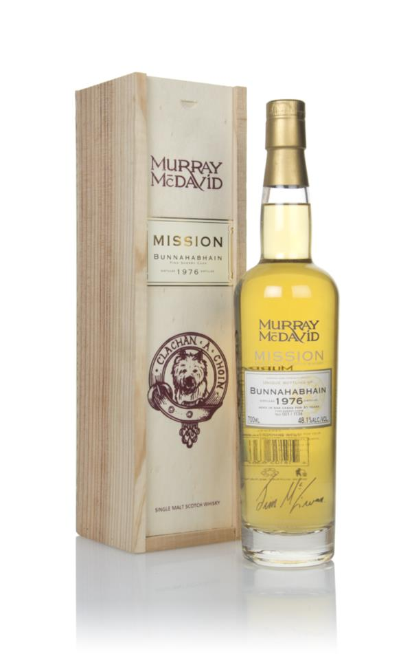 Bunnahabhain 31 Year Old 1976 - Mission (Murray McDavid) Single Malt Whisky
