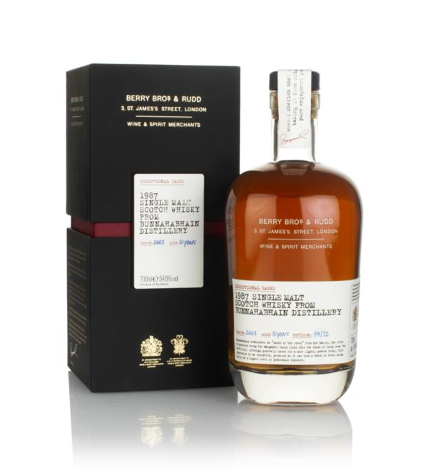 Bunnahabhain 31 Year Old 1987 (cask 2463) - Exceptional Casks (Berry B Single Malt Whisky