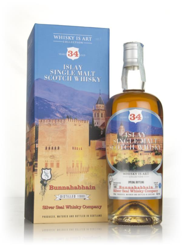 Bunnahabhain 34 Year Old 1980 (cask 84) - Whisky is Art (Silver Seal) Single Malt Whisky