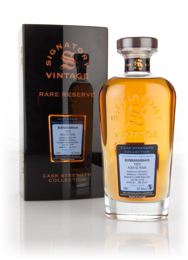 Bunnahabhain 42 Year Old 1973 (cask 12145) - Cask Strength Collection Single Malt Whisky