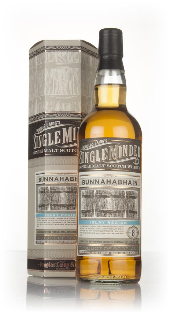 Bunnahabhain 8 Year Old - Single Minded (Douglas Laing) Single Malt Whisky