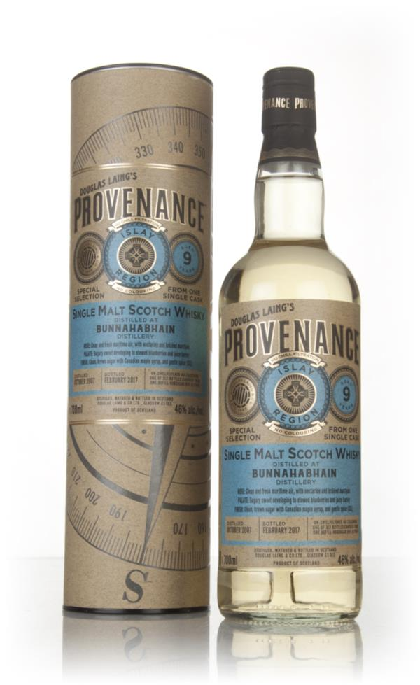 Bunnahabhain 9 Year Old 2007 (cask 11642) - Provenance (Douglas Laing) Single Malt Whisky
